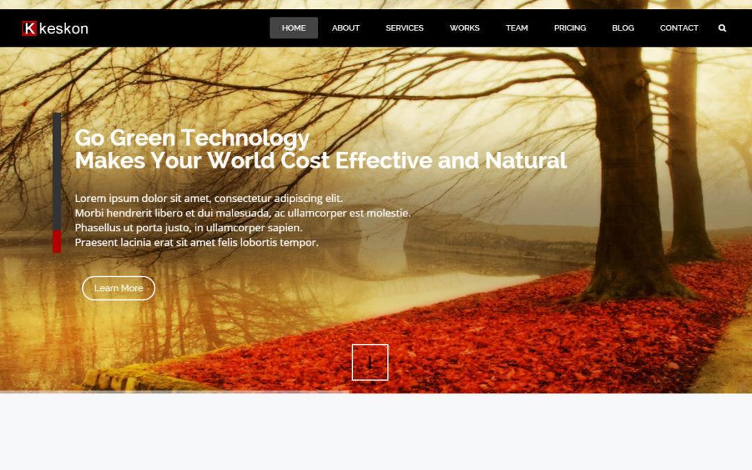 Keskon Responsive Website
