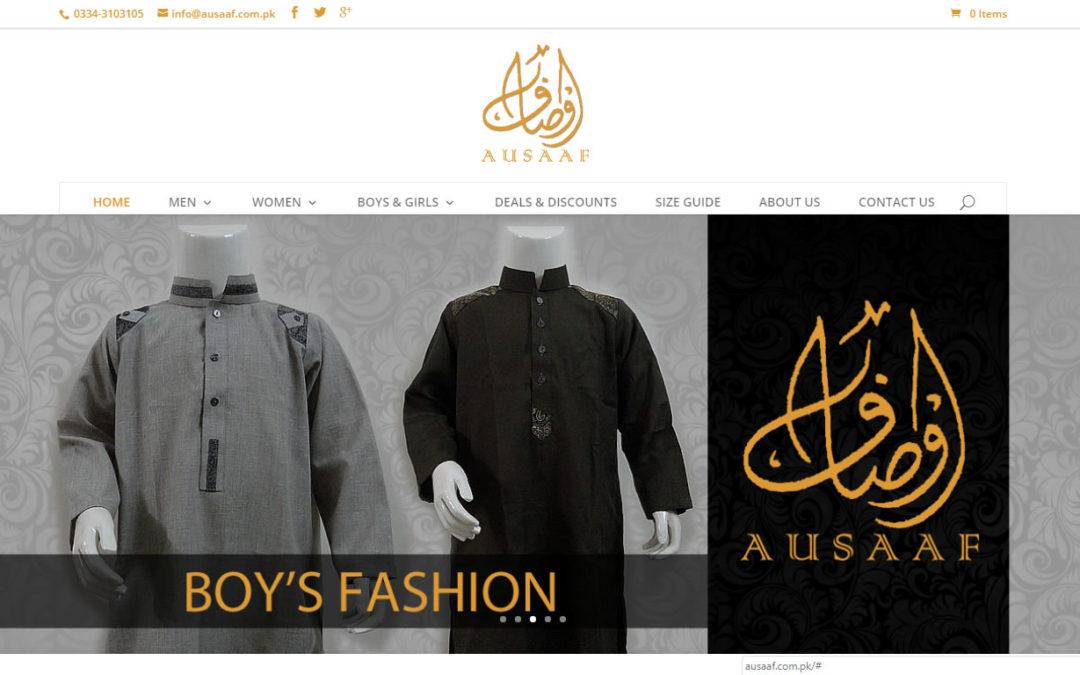 Clothing Line Website