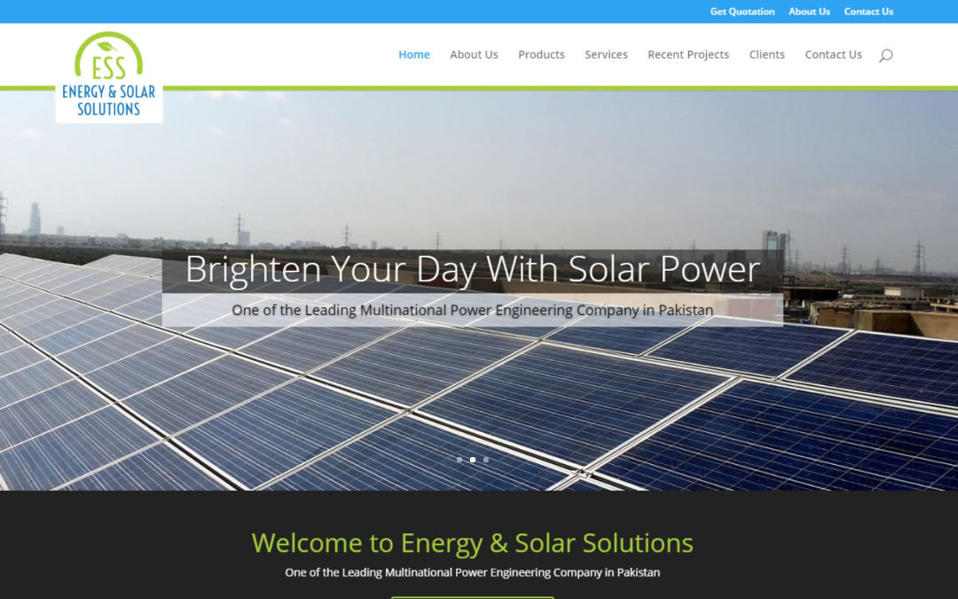 Energy & Solar Solution Website
