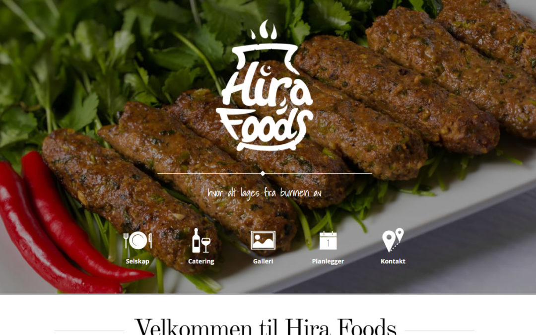 Sweden Based Food Chain Website