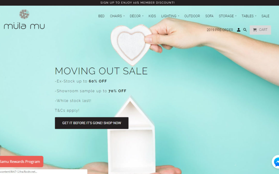 Singapore Based Furniture Company